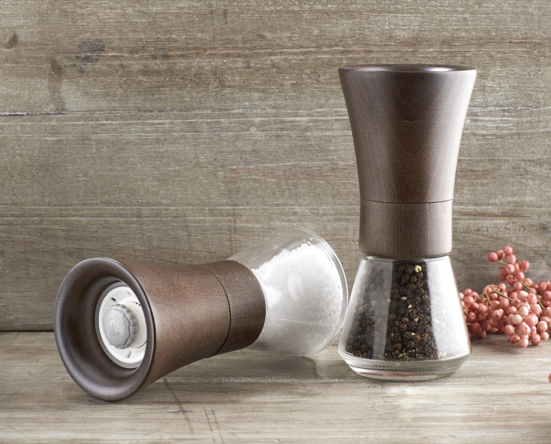 Salt og peber sæt i Træ og glas - Salt og peber sæt - Spætten.dk