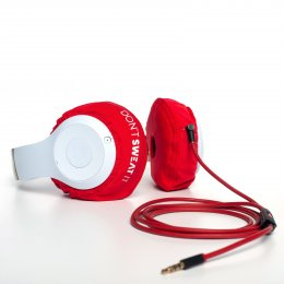 Don't Sweat It - Headphone cover | Fiery Red